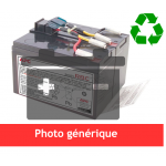 Battery pack for extended backup unit for Ups MGEUPS Pulsar EX1000 EX1500  EX