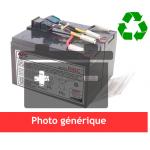 Battery pack for Ups UNITEK Mistral 650 EX6  Mistral