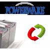 Powerware UPS's battery
