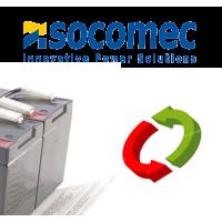 Batteries onduleurs SOCOMEC